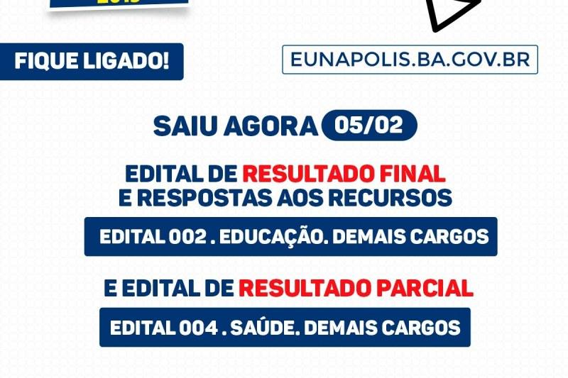 Processo Seletivo  Prefeitura libera resultado final do edital 002 e ... dd73bd087cb0b